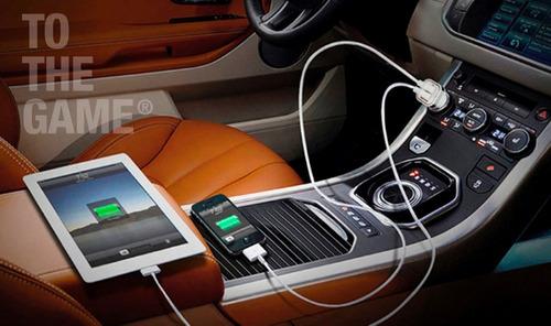 cargador auto doble usb + cable lg optimus l5 l3 l7 g l9 l4