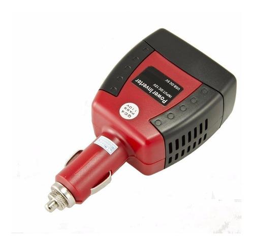cargador auto inversor energia 12v a 220v 150w