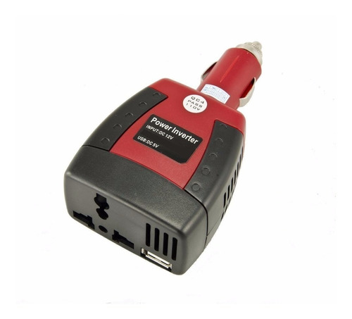 cargador auto inversor energia 12v a 220v 150w + usb tablet