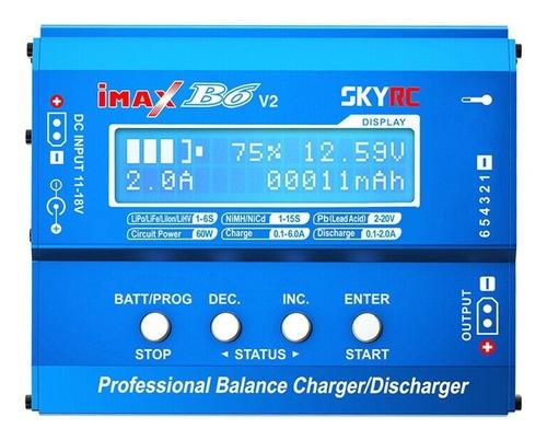 cargador balanceador lipo skyrc b6 100% original seriado