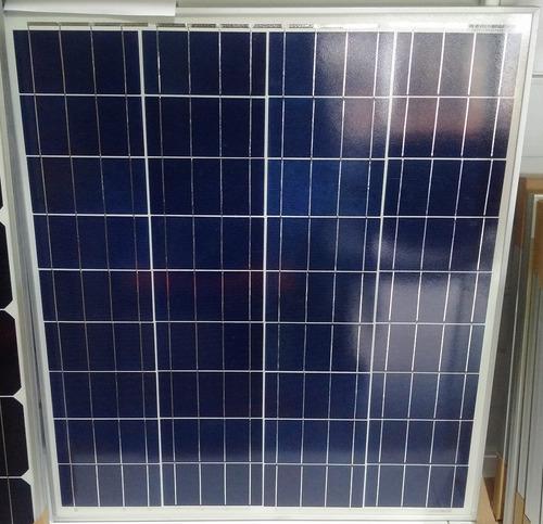 cargador batería 12v panel solar fotovoltaico 60wp solarline