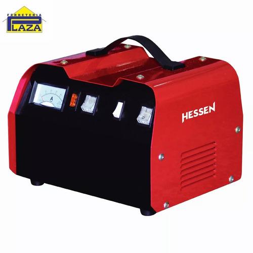 cargador batería 25amp 12/24v hessen pro