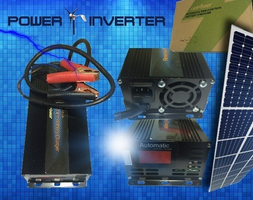 cargador batería 48vdc/220vac 10a automático