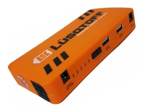 cargador bateria arrancador auto usb lusqtoff pi-300 luz led