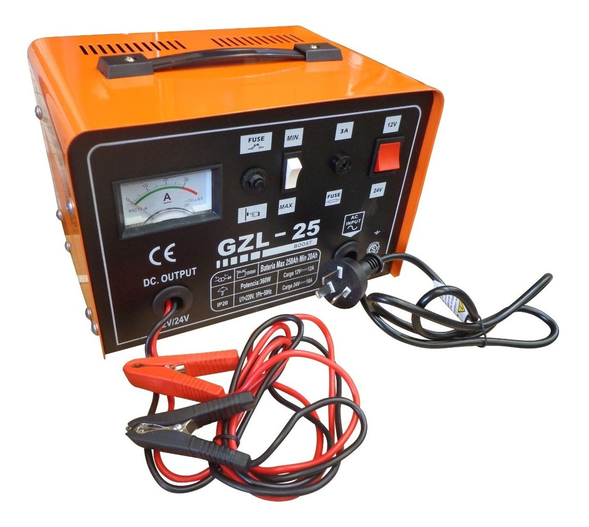 be68b7c75e3 Cargador Bateria Auto 25 Amp Gzl-25 12v 24v Kushiro - $ 3.312,00 en ...