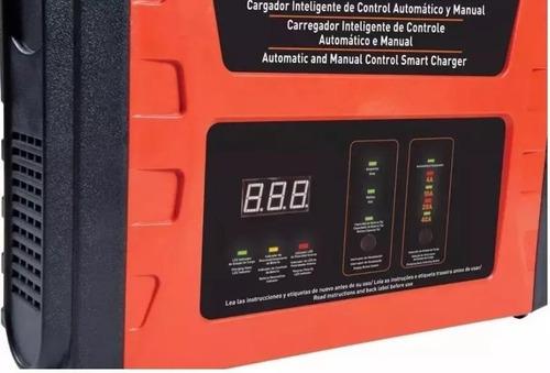 cargador bateria auto inteligente 40 amp black + decker