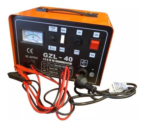 cargador bateria auto stop kushiro 40 amp 12v/24v zona norte