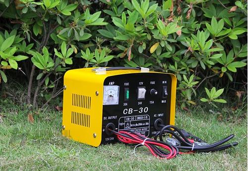 cargador batería autos motos carros 12v/24v cmarvin