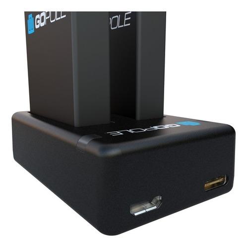 cargador batería baterías