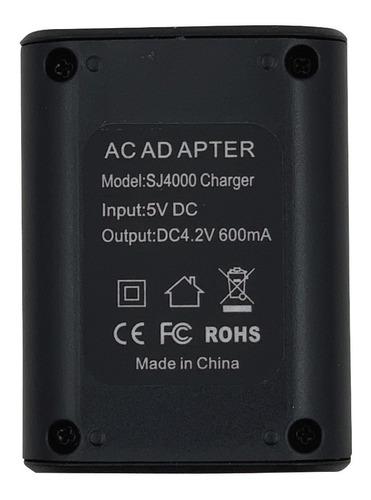 cargador batería cámaras