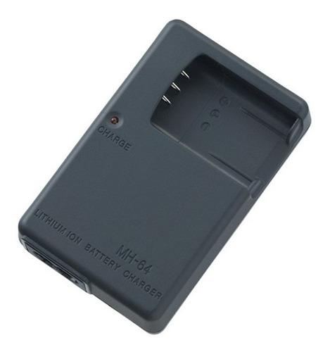cargador bateria  en-el11 mh-64 nikon  coolpix