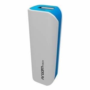 cargador batería externo marca argom portátil 2500mah x mayo