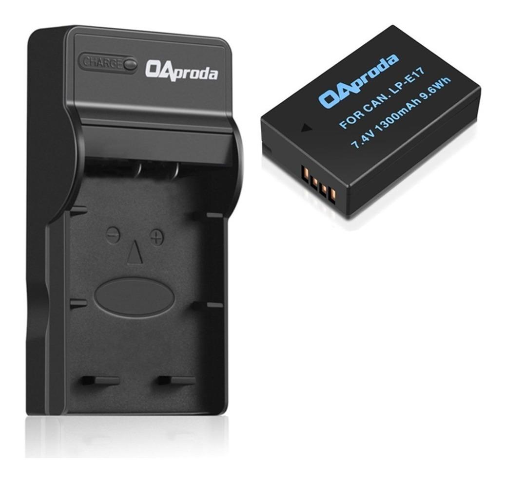 84971caead6 Cargador + Bateria Lp-e17 Para Canon T6i T7i X8i 8000d - $ 90.000 en ...