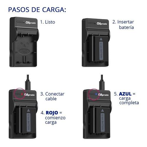 cargador + bateria lp-e17 para canon t6i t7i x8i 8000d