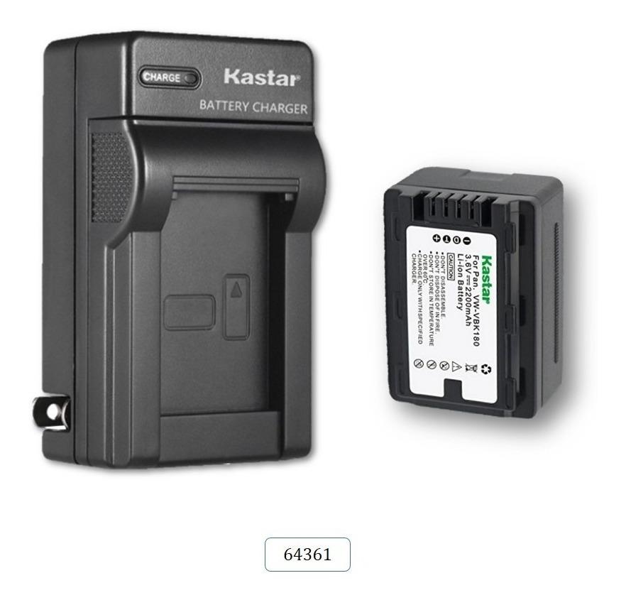 Cargador de batería para Panasonic vw-vbk-180 vw-vbk-180-ek
