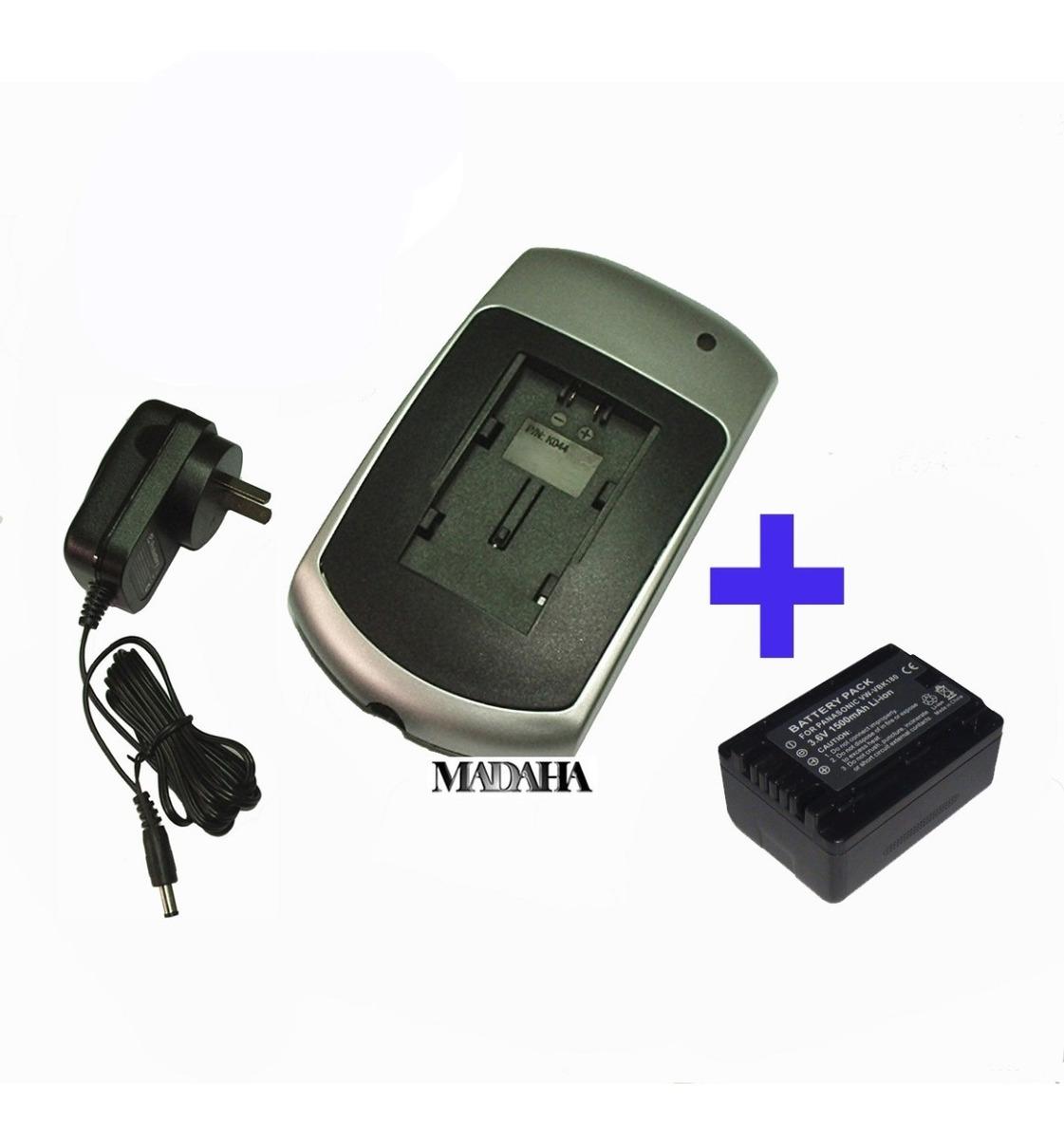 Batería CARGADOR para Panasonic hdc sd-60 sd-90 tm-40 tm-55 tm-90