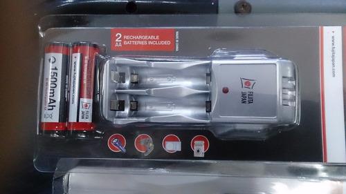 cargador batería pilas