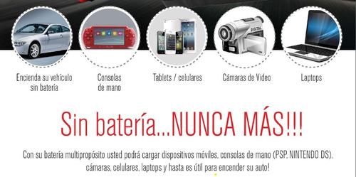 cargador bateria portable ultra pontente 13600 mah linterna