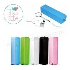 cargador bateria portatil celular power bank 2600