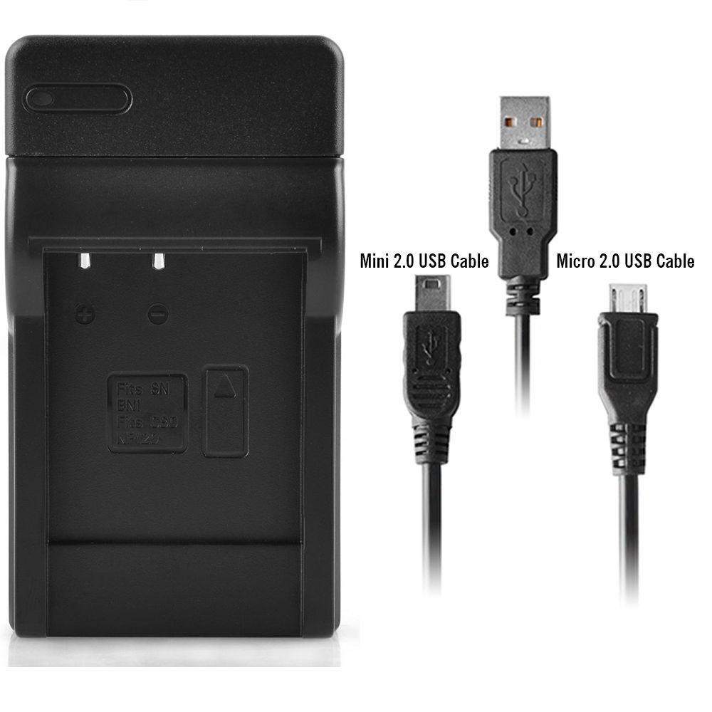 CARGADOR para Sony CyberShot dsctx 7 np-bn1 2x batería