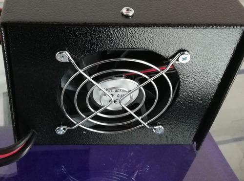 cargador baterías 24v 5ah automático planta carro digital