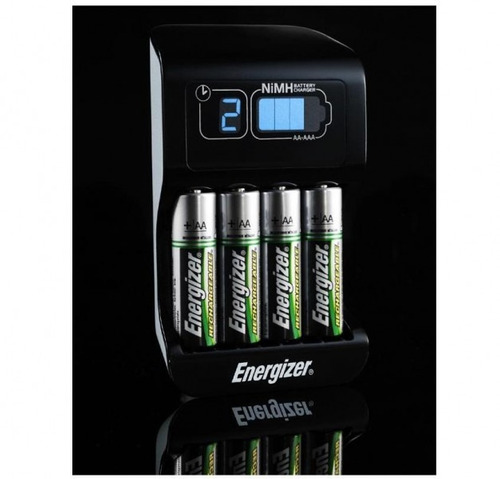 cargador baterías baterías