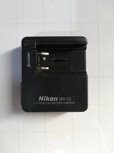 cargador baterias nikon mh-53 en-el1 camara coolpix usado