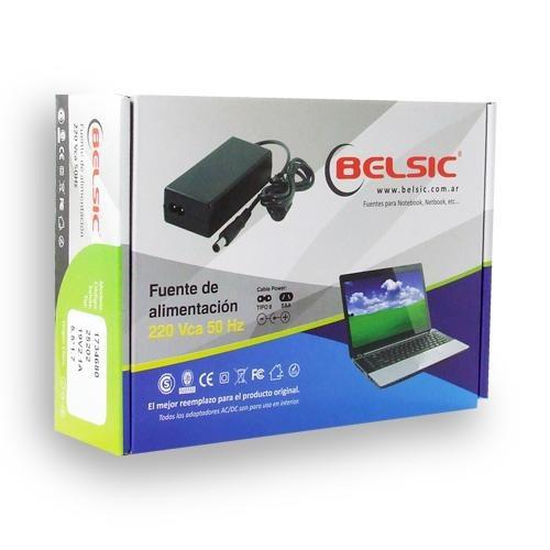 cargador belsic para notebook / netbook asus
