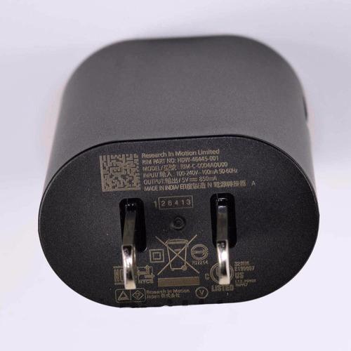 cargador blackberry original 5v 850mah cable microusb q5 z10