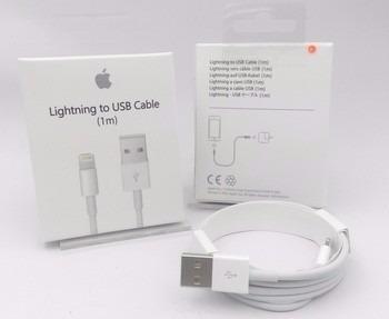 cargador + cable d datos usb iphone 5 5s 6 6s 7 plus 8 pl 1m