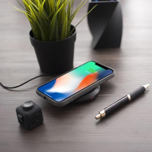cargador carga rápida inalámbrico samsung / iphone x / htc /