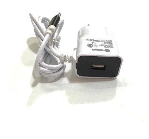 cargador carga rapida tipo c kosmo 2 amp puerto usb adic
