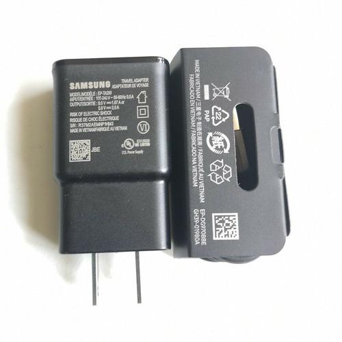 cargador carga rapida tipo c note 9 s8 s9 s10 plus original