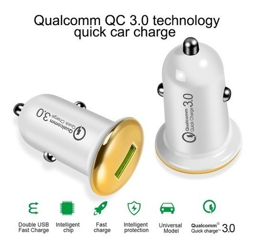 cargador carro usb ipad iphone ipod qualcomm 3.0 c1