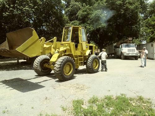 cargador caterpillar 930, año 1987