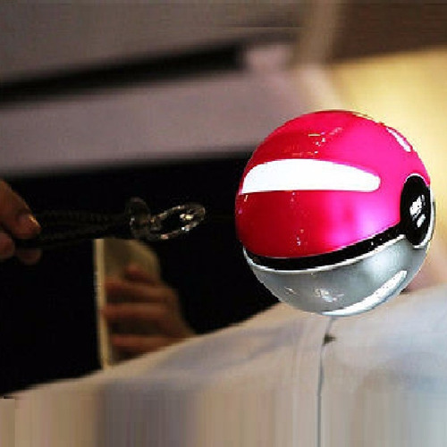 cargador celular bola pokemon go power bank bateria k3