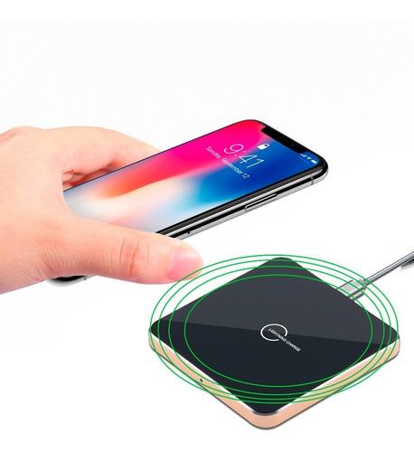 cargador celular vak b1 universal inalámbrico qi iphone