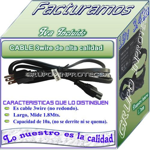 cargador compatible acer aspire 7741z-4433 19v 3.42a idd mmu