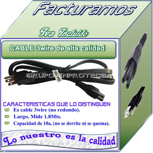 cargador compatible compaq cq57  18.5v 3.5a daa
