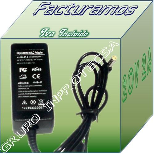 cargador compatible laptop lanix 20v 2a  idd mmu