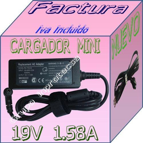 cargador compatible laptop toshiba mini 19v 3.42a 2.5mm dmm