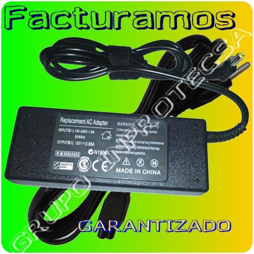 cargador compatible toshiba  l505d-s5893  19v 3.95a idd