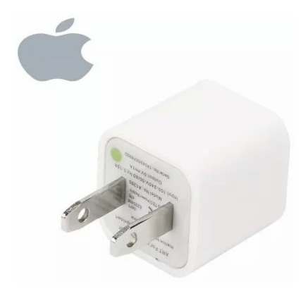 cargador completo cable usb + cubo iphone 5 5c 5s 6 6s ipod