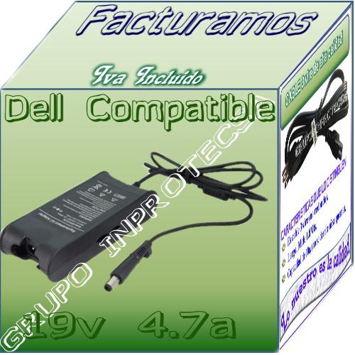 cargador comptible dell inspiron 15 3520 19.5v 4.62a mmu