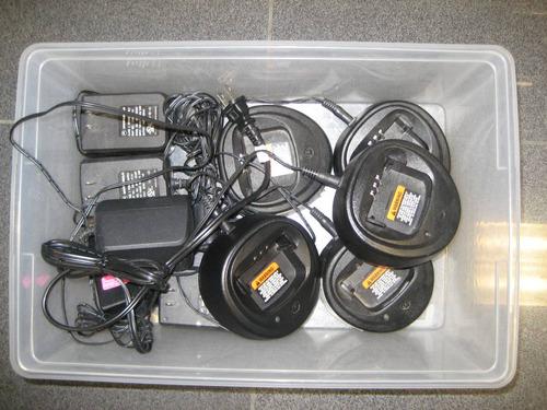 cargador con eliminador radio motorola ep450 uhf vhf camping