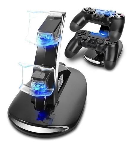 cargador control ps4 cargador doble mando ps4 accesorios ps4