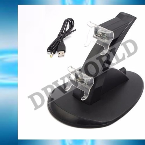 cargador control xbox one dual + cable usb
