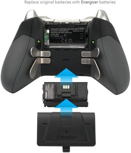 cargador controlador pdp energizer xbox uno con paquete bate