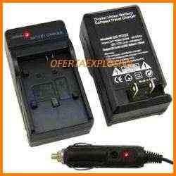 cargador c/smart led p/bateria klic-7001 p/camara kodak