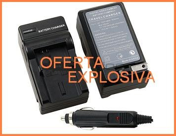 cargador c/smart led v707/v714/v733 p/ camara jvc gr-d275